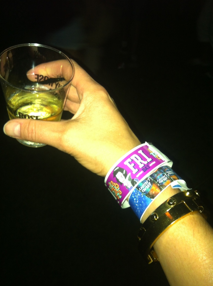 Lollapalooza wrist band