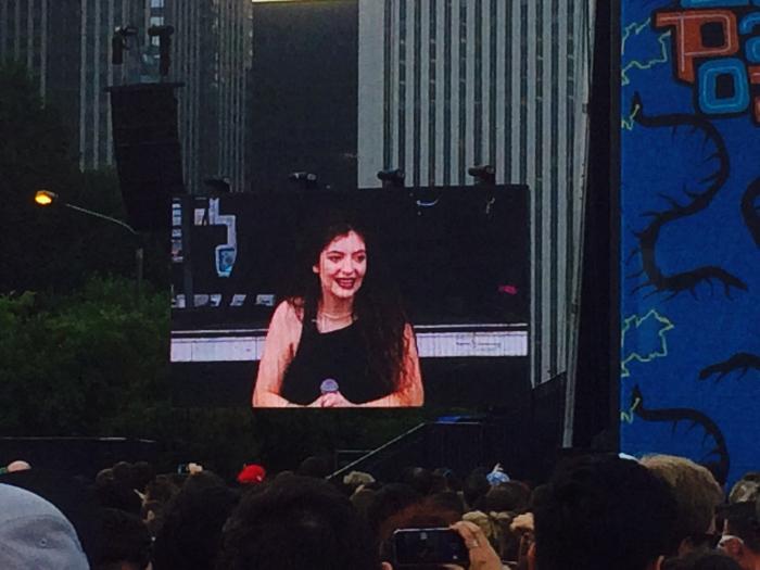 Lorde Lollapalooza 2014