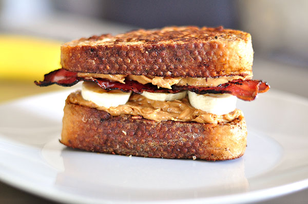 Peanut Butter Bacon sandwich