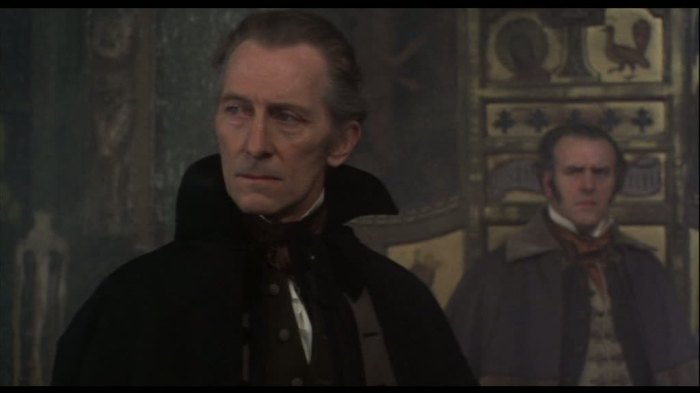 peter cushing horror films