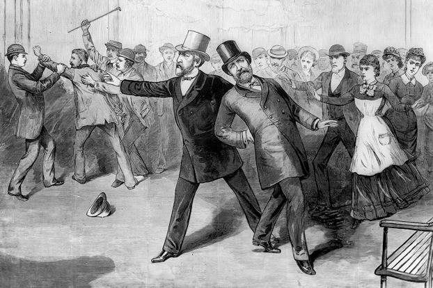 President Garfield shooting