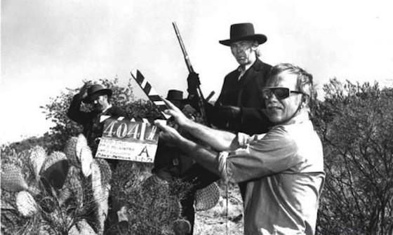 Sam Peckinpah directing