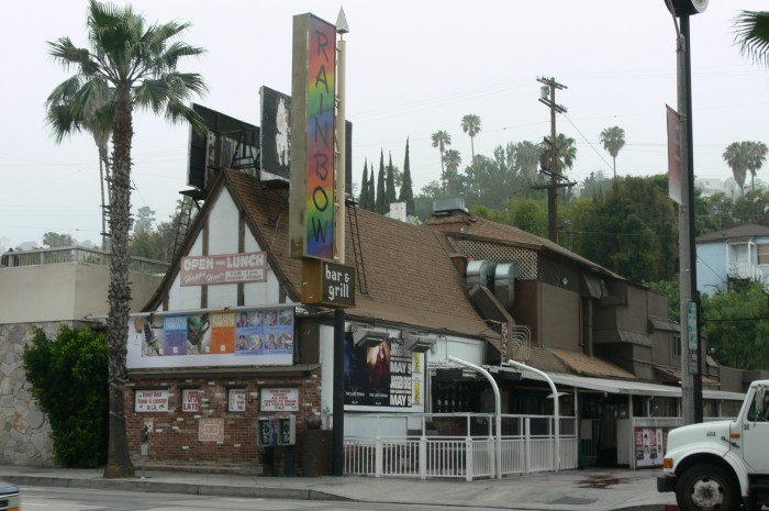 Sunset strip classic bars