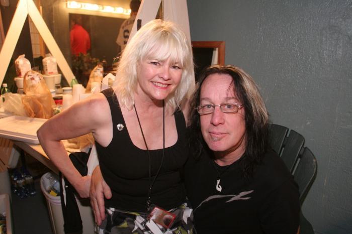 Todd Rundgren Michelle Rundgren