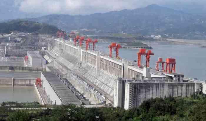 Yangtze River China dam