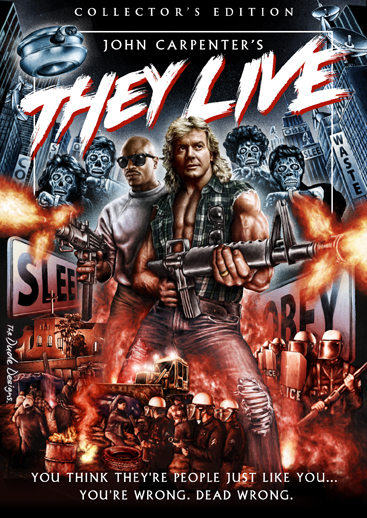 They Live DVD Poster