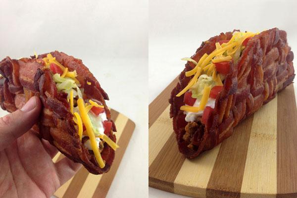 Bacon Weave Taco