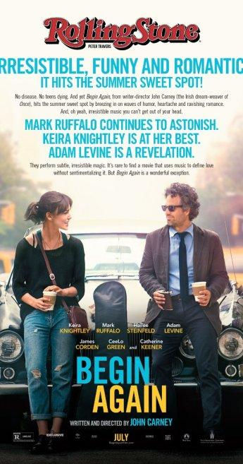 Begin Again movie