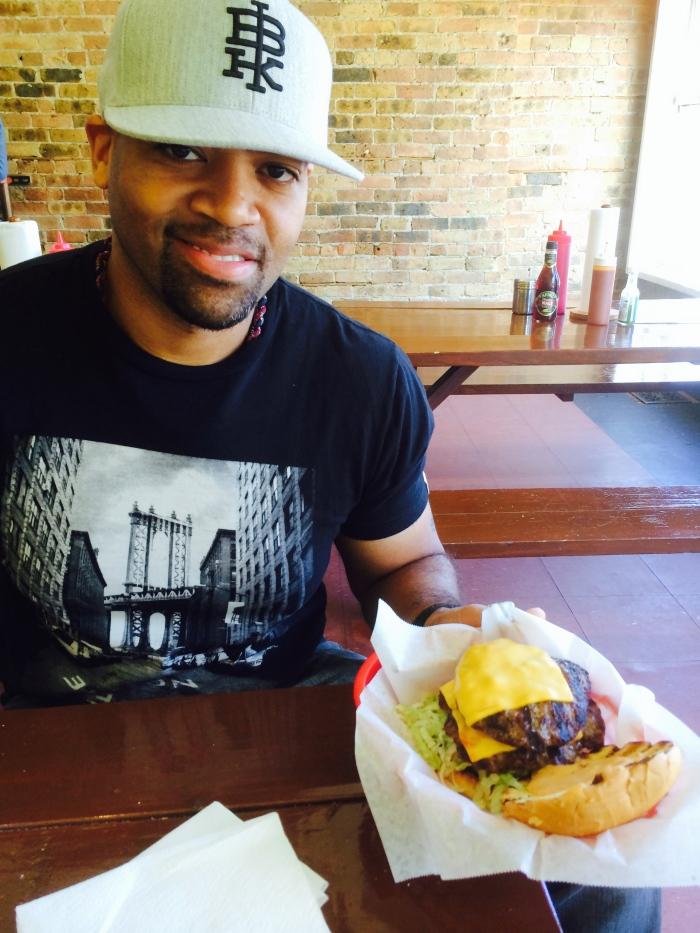 The Big Mac burger Chicago