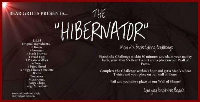 The Hibernator menu