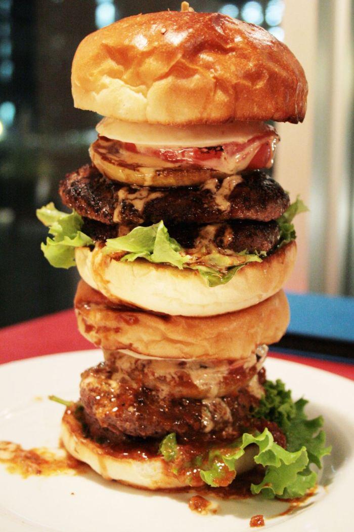 Tokyo burger tower