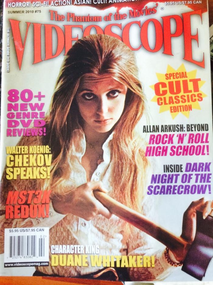 videoscope cult movie magazine