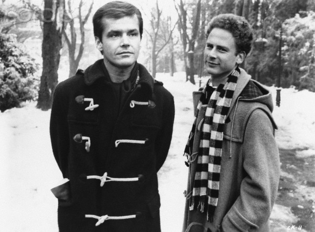 Jack Nicholson and Art Garfunkel in Carnal Knowledge
