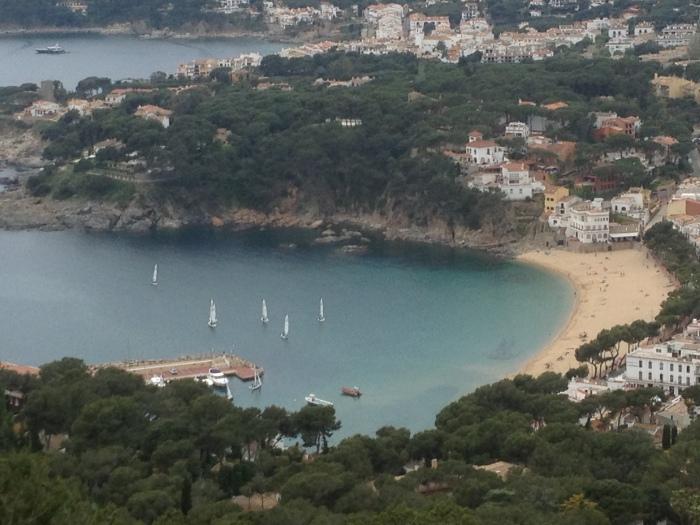 Spain Costa Brava coastline