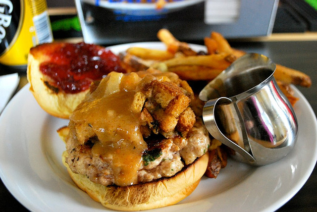 thanksgiving burger 2014