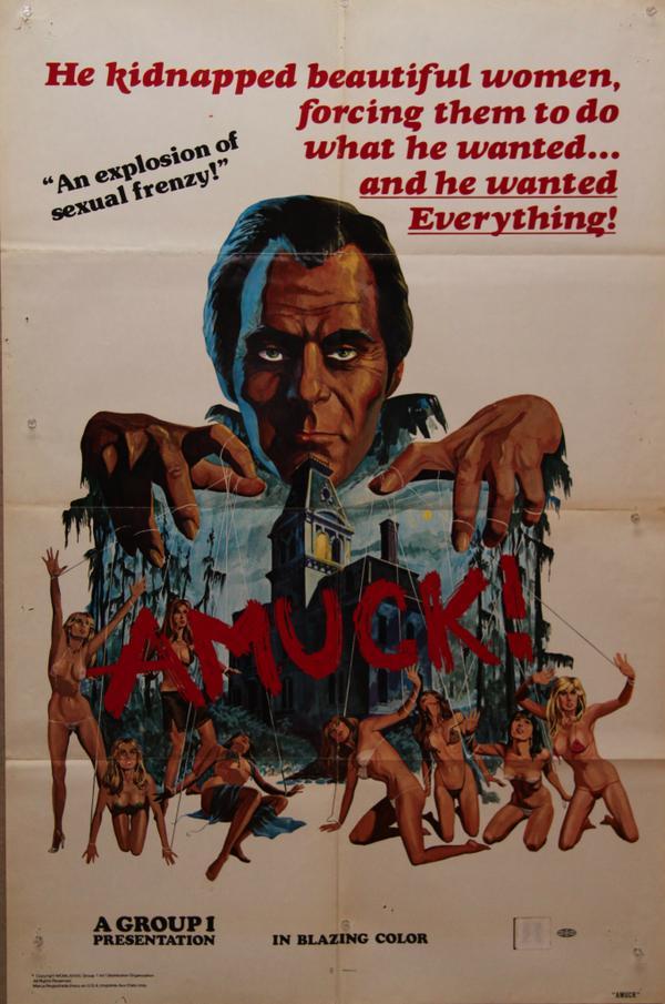 Amuck! Poster