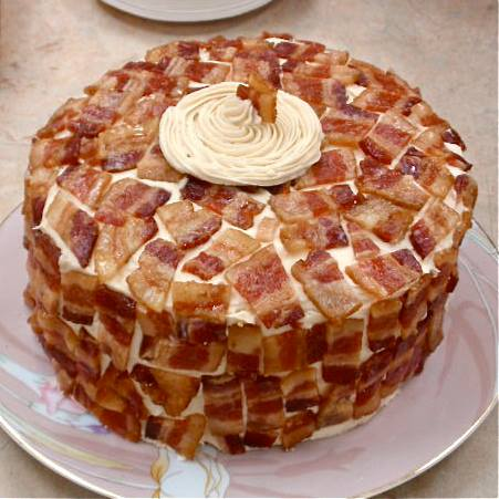 bacon cake recipe