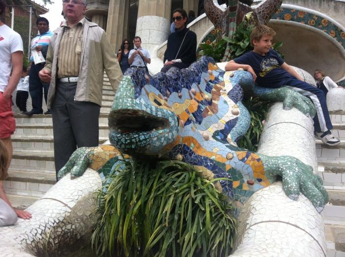 Barcelona Lizard