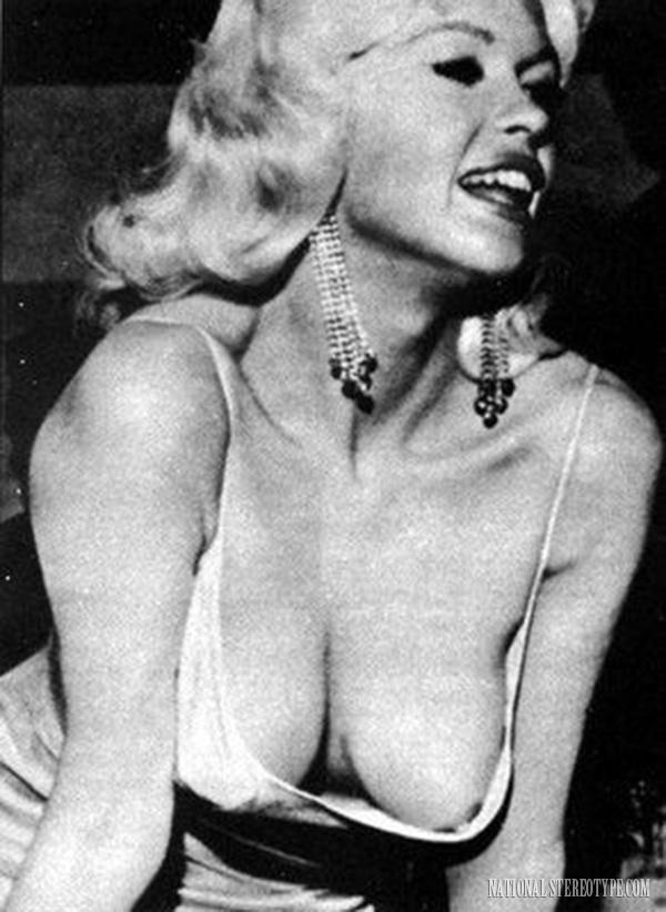 Jayne Mansfield nipple slip