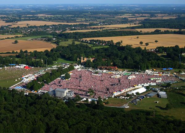 Knebworth music festival