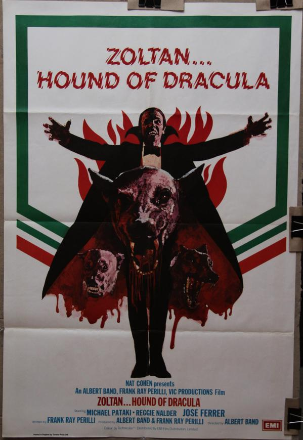 Rio movie posters - Zolton Hound Of Dracula