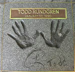 Todd Rundgren award ceremony