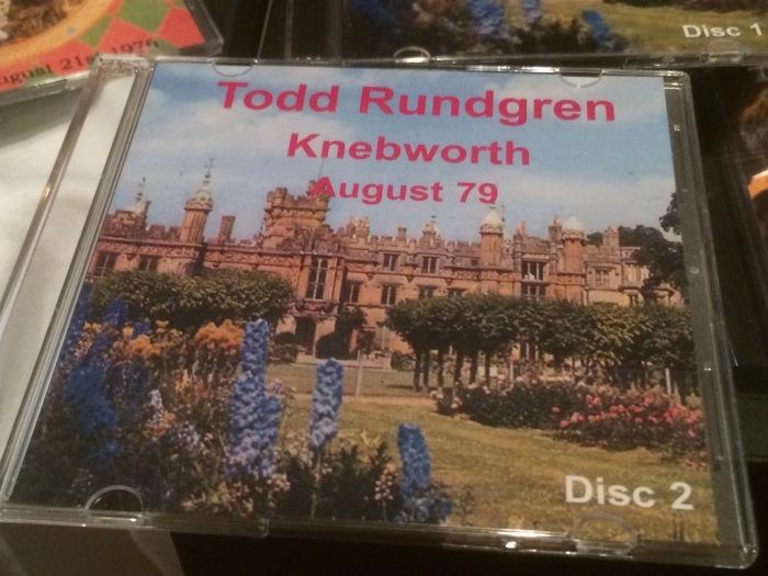 Todd Rundgren live at Knebworth