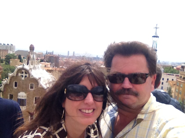 Barcelona parc guell Alex Duda and John Rieber