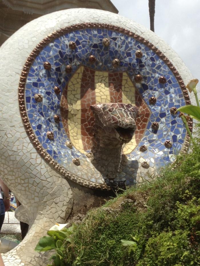 Barcelona Parc Guell art