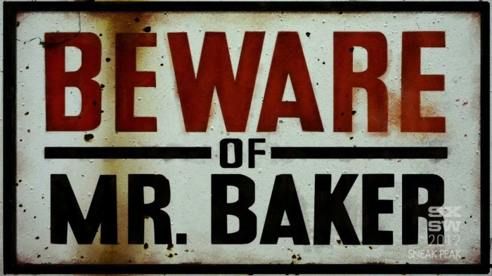beware of ginger baker