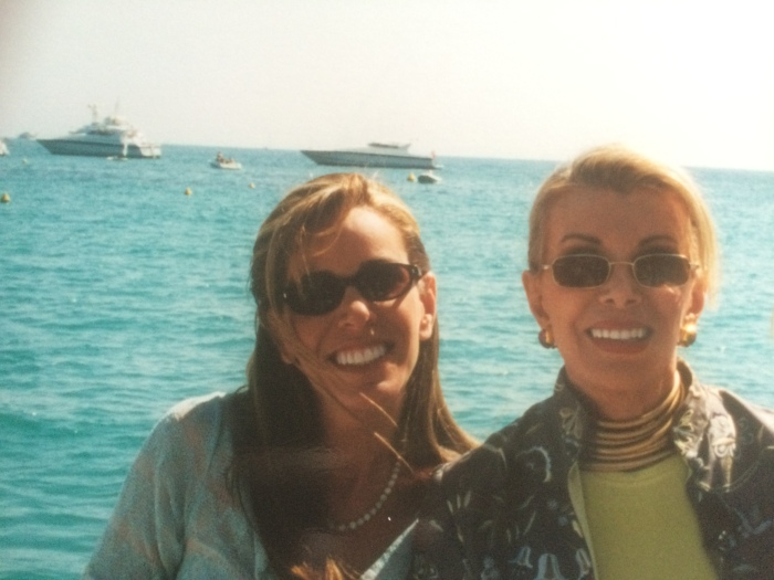 Joan and Melissa Rivers 2000 Cannes
