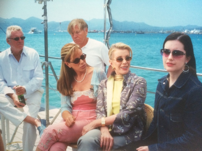 Joan and Melissa Rivers Cannes 2000