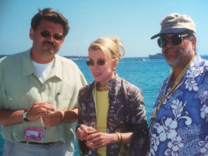 Joan Rivers anecdotes Cannes