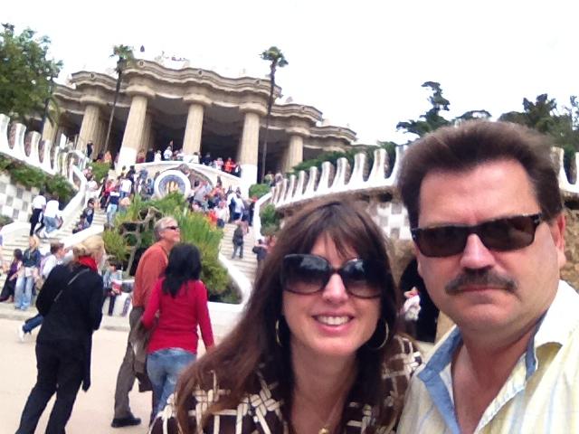 John Rieber Alex Duda Barcelona Parc Guell
