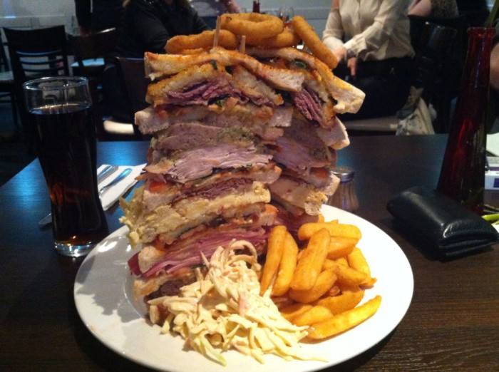 largest sandwiches