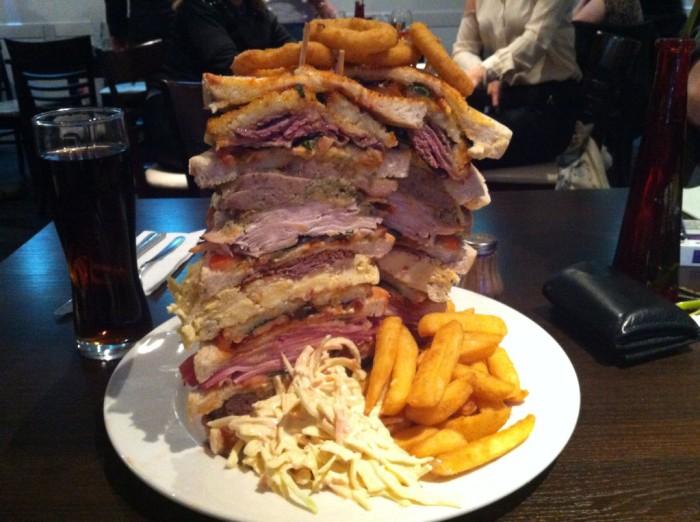 largest sandwiches