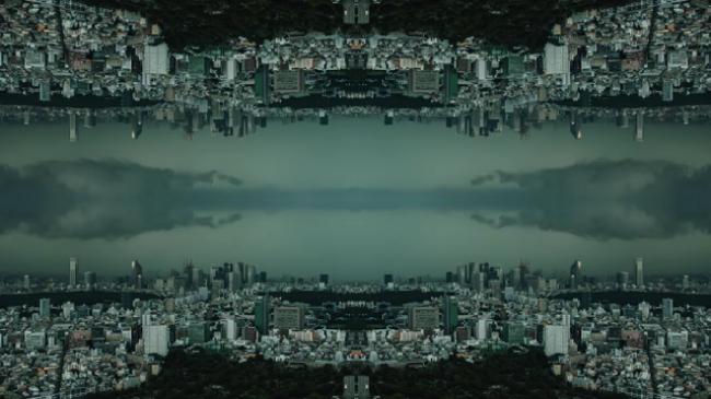 Mirrored Tokyo darwinfish105
