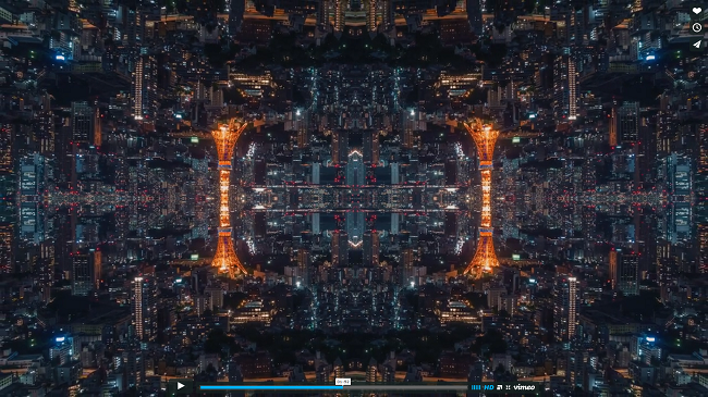 mirrored tokyo video