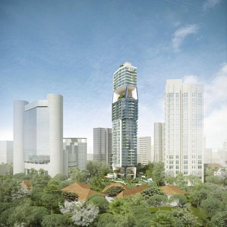 most unique apartment buildings