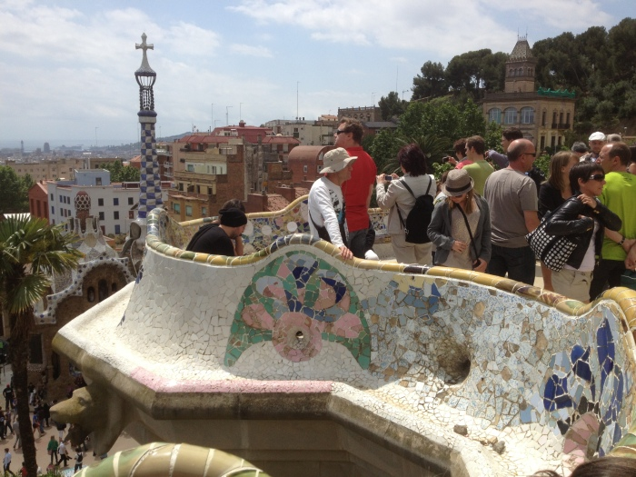 Parc Guell benches