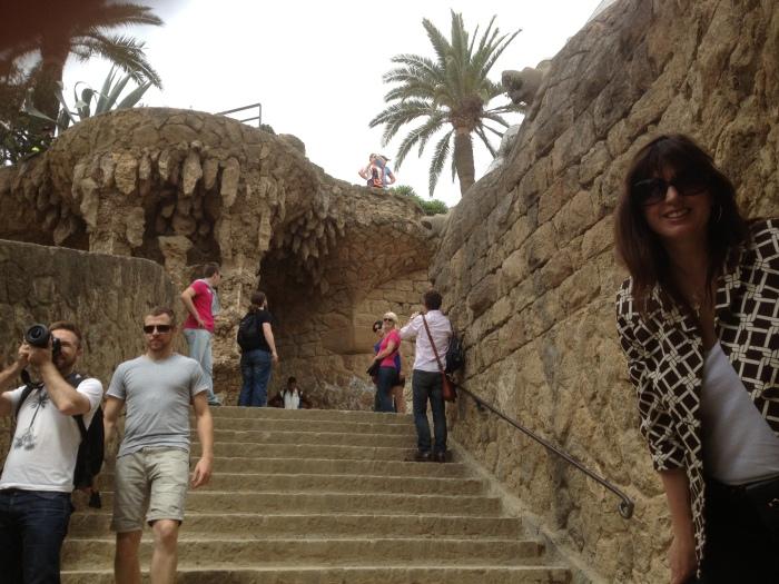 Park Guell tourist spots