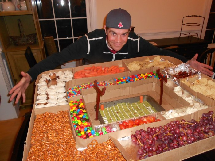 Super Bowl Snack Stadium 4