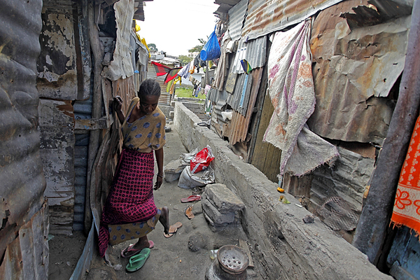 worst african slums