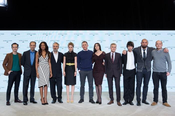 James Bond Spectre cast