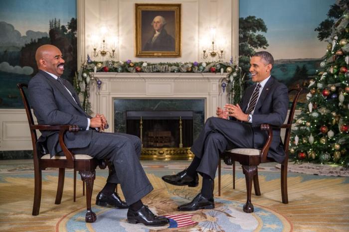 Steve Harvey President Obama