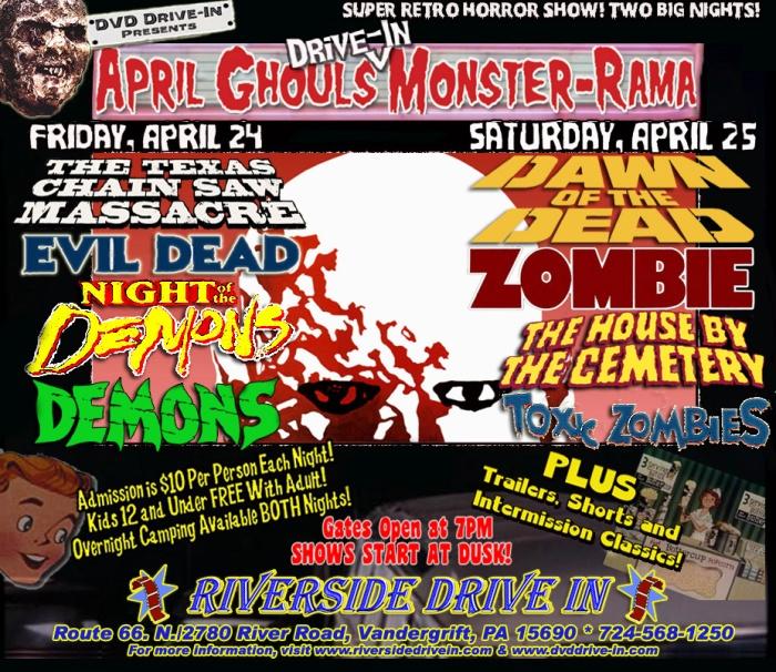 april ghouls monster fest 2015