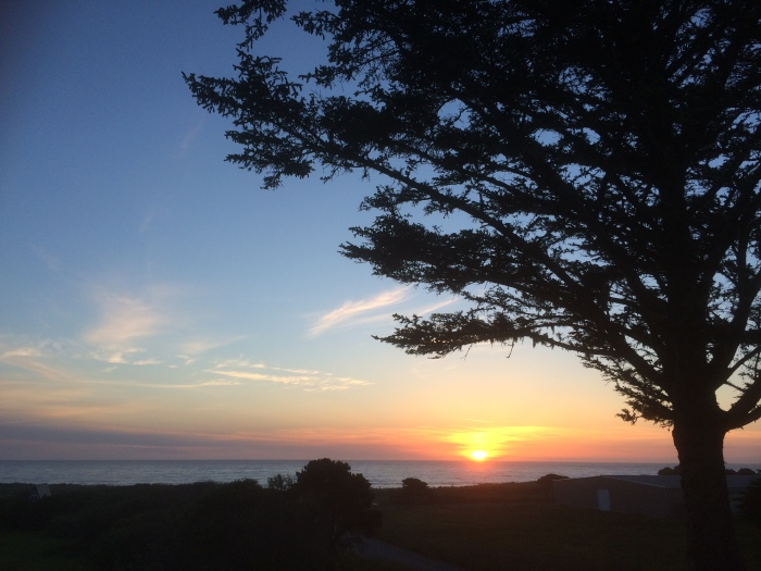 beautiful pacific ocean sunsets