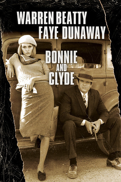 """Bonnie And Clyde Movie Poster """"Bonnie & Cly..."""