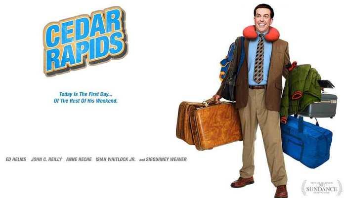 Comedian Ed Helms Cedar Rapids movie poster