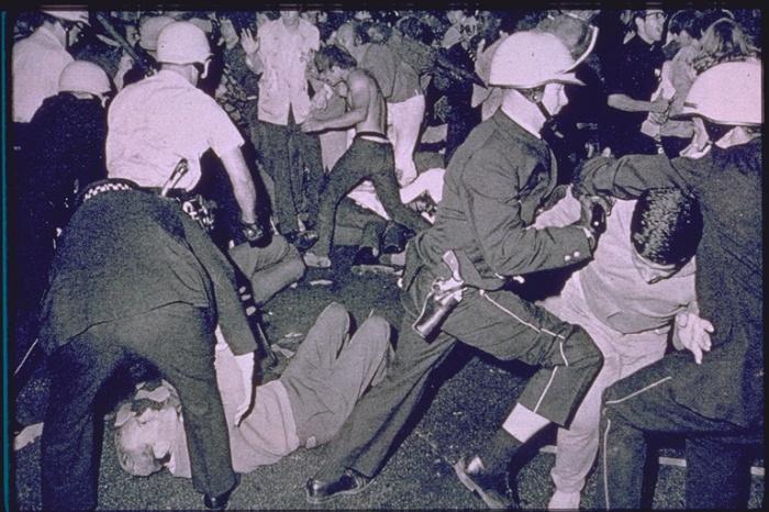Chicago police riots
